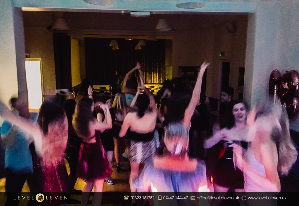 18th Birthday Party Disco Hire in Uckfield