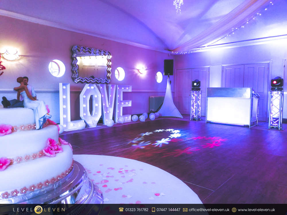 Wedding DJ and Love Letter Hire in Kent, Sussex and Surrey